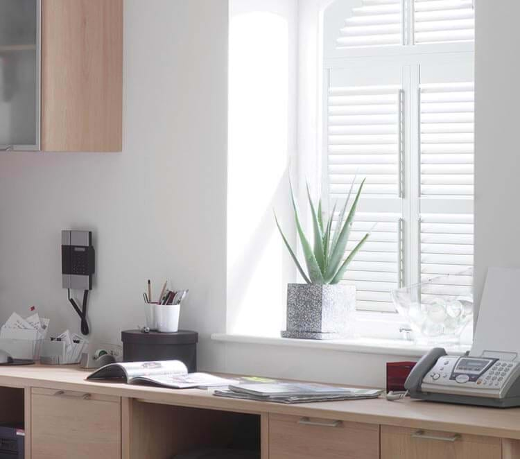 Home Office Shutters | Made to Measure | Thomas Sanderson™