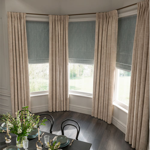 How To Dress A Bay Window With Curtains Thomas Sanderson